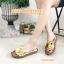 รองเท้าแตะพื้นนิ่มเพื่อสุขภาพด้านบนปีะดับดอกไม้น่ารัก thumbnail 2