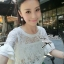 Lady Ribbon's Made Lady White Floral Lace See-through Blouse thumbnail 4