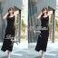 Lady Ribbon's Made Lady Beatrice Elegant and Glamourous Jersey Maxi Dress thumbnail 7