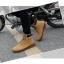 พร้อมส่ง รองเท้าหุ้มข้อ ผู้ชาย รองเท้าหนัง รองเท้าหุ้มข้อ สีเหลือง แบบผูกเชือก thumbnail 2