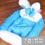 (พร้อมส่ง) ที่นอนสุนัข เบาะกระต่าย สีฟ้า thumbnail 1