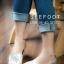 รองเท้า LACOSTE คัชชูหนังด้านหน้า ฉลุลายสี่เหลี่ยม thumbnail 2