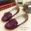 รองเท้าคัทชูสไตล์วินเทจ ประดับโบว์น่ารัก thumbnail 1