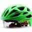 หมวกกันน็อคจักรยาน cigna aerow 02 มีแว่นในตัว thumbnail 13