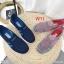 รองเท้าผ้าใบแฟชั่นเพื่อสุขภาพเนื้อผ้ายืดหยุ่นสวมใส่สบาย thumbnail 3