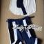 Lady Ribbon's Made Lady Jaime Sleeveless Bow Top and Skinny Striped Pants Set thumbnail 6