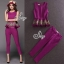 Sevy Two Pieces Of Flouncing Gold Embroidered Sleeveless Top With Feet Pants Suit Sets thumbnail 2