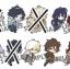 **พร้อมส่ง**Toy'sworks Collection Niiten-gomu Touken Ranbu Online Vol.2 thumbnail 1