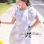 Twinkle Star Ribbon Curve-shoulder Loose Mini dress thumbnail 2
