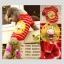 เสื้อสุนัข เสื้อน้องหมา สีแดง-ขาว ลายทาง รูปกระต่าย พร้อมส่ง thumbnail 1