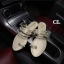 รองเท้าแตะแบบสวมนิ้วโป้ง แต่งอะไหล่หมุดไข่มุก น่ารักมาก thumbnail 2