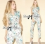 Lady Ribbon's Made Lady Lilly Pastel Floral Printed Sleeveless Jumpsuit thumbnail 2
