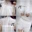 Lady Ribbon's Made Lady Blaire Pretty Sweet Floral White Lace Ensemble Set thumbnail 6