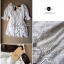 Lady Ribbon's Made Lady White Abby, Floral Off-shoulder Mini dress thumbnail 5