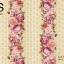 วอลเปเปอร์ลายทางดอกไม้ใหญ่โทนสีชมพูเหลือง GAR3-B62W thumbnail 2