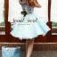 Set Pastel Blue Domicile Blouse with Organza Skirt by Seoul Secret thumbnail 2