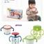 ถ้วยหลอดดูดกันสำลัก Richell clear straw bottle mug + ถ้วยฝึกดูด Richell thumbnail 1