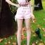 Cherry A Little Cuty Girl JumpSuite by Seoul Secret thumbnail 1