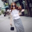 Cliona made' Korean Summer Shirt + Beeline Skirt Set thumbnail 4
