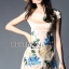 Lady Ribbon's Made Lady Hannah Sweet Feminine Satin and Flower Embroidered Organza Mini Dress thumbnail 6