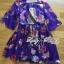 Lady Ribbon's Made Lady Ashley Colourful Fantasy Nature Printed Dress thumbnail 11