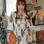 Lady Ribbon's Made Lady Iva Haute Modern Bohemian Dress thumbnail 1