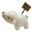 Let's be friends polar bear S paperweight (flop) thumbnail 4