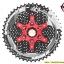 เฟือง SUNRACE รุ่น CSMX8 black/red 11 SPD ขนาด 11-46 thumbnail 2