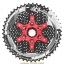 เฟือง SUNRACE รุ่น CSMX8 silver/red 11 SPD ขนาด 11-46T thumbnail 2