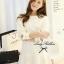 Lady Ribbon's Made Lady White Bella Mini dress thumbnail 1
