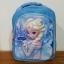 กระเป๋าเป้สะพายหลังลายนูน 3 มิติ Frozen ฟ้า thumbnail 2