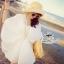 White fairy pleated mini dress thumbnail 3