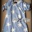 Twinkle Star Ribbon Curve-shoulder Loose Mini dress thumbnail 5