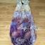 Lady Ribbon's Made Lady Vanessa Summer Colourful Floral Printed Long Dress thumbnail 8