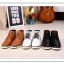 รองเท้าแฟชั่นผู้ชาย พรีออร์เดอร์ รองเท้าหนัง สีดำ ผูกเชือก ใส่เที่ยว ใส่ทำงาน thumbnail 8