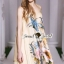 Seoul Secret Say's... Vintage Chiffon Maxi Dress thumbnail 5