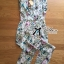 Lady Ribbon's Made Lady Lilly Pastel Floral Printed Sleeveless Jumpsuit thumbnail 8