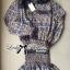 Lady Vera Mixed Print Botton-Down Mini Dress thumbnail 4