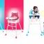 เก้าอี้ high chair พี่หมี มีสีฟ้า และชมพู thumbnail 1
