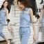 Seoul Secret Say's... Layla PlaySuits Denim Lace thumbnail 6