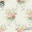 วอลเปเปอร์ลายดอกไม้ช่อวินเทจดอกสีม่วง เหลือง ฟ้าใบสีเขียวเทาเข้มพื้นสีเขียวเทาเงา BQ-B22 thumbnail 1