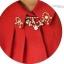 เสื้อเชิ้ตสีแดงต้อนรับตรุษจีนประดับปกเพชร thumbnail 5