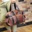 พร้อมส่ง กระเป๋าถือ กระเป๋าสะพาย กระเป๋าหนัง PU สีน้ำตาล มีสายสะพายไหล่ สายปรับขนาดได้ มีช่องเก็บของเยอะ จุของได้เยอะ thumbnail 3