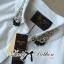 Lady Ribbon's Made Lady Chloe Insert Lace Embellished White Shirt Dress thumbnail 8