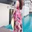 Sevy Sweet Summer Vacation Pink Beach Maxi Dress thumbnail 12
