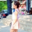 ชุดเซ็ทเสื้อกับกางเกง ลุคสาวหวาน สีชมพูพาสเทล thumbnail 3
