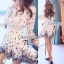 Sophia Black Rose Mini Dress thumbnail 3