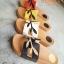 รองเท้าแฟชั่น สไตล์ HERMES รองเท้าแตะแบบสวมพื้นนิ่มใส่สบาย thumbnail 1