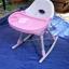 เก้าอี้กินข้าว 3 in 1 ปรับเป็นเก้าอี้โยกเยกได้ ระบุสีฟ้า หรือชมพู นะค่ะ thumbnail 5