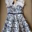 Lady Ribbon's Made Lady Blue Flora Mini dress thumbnail 5